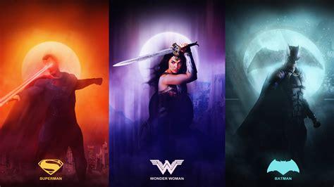 Justice League Wallpaper 4k Justice League Superman Wonder Woman Batman Uhd 8k Wallpaper Pixelz