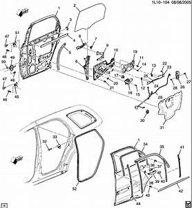 2003 Chevy Tahoe Interior Parts Diagram
