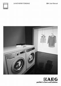 Aeg T75380ah2 Dryer User Manual