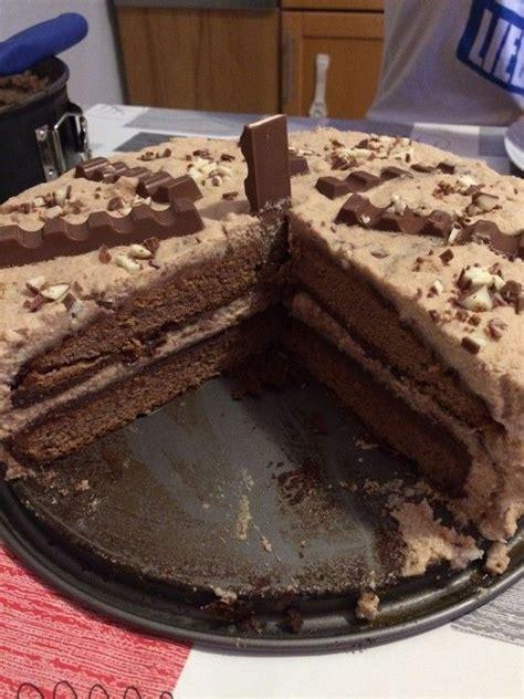 kinderschokolade kuchen rezept kinderschokolade torte rezept 233 dess 233 g in 2019