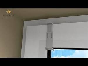 Plissee Klemmträger Nachteile : animation plissee cosiflor vs 2 montage im glasfalz mittels falzfix klemmtr ger youtube ~ Buech-reservation.com Haus und Dekorationen