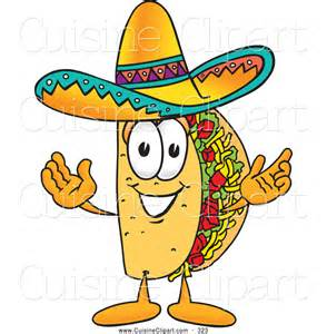 Taco Cartoon Character