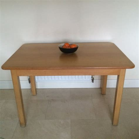 Kitchen Table Solid Beech 4 Seater Table For Sale In