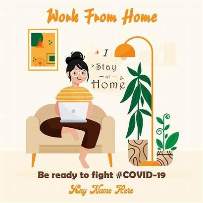 Stay Covid Coronavirus Greeting