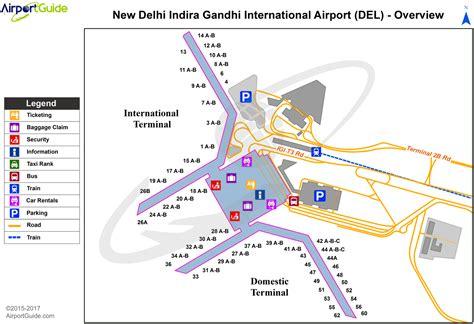 Delhi - Indira Gandhi International (DEL) Airport Terminal