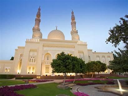 Mosque Dubai Jumeirah Tour Dusk Emirates Arab