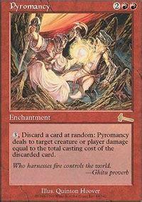 Pyromancer Deck Vintage by Pyromancy Urza S Legacy Mtg Card