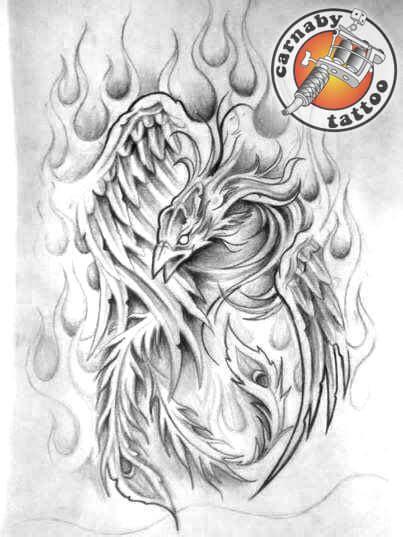le tatouage phenix  la signification culturelle pour