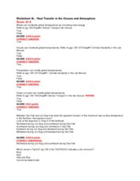 Ocean Current Worksheet Worksheets Ratchasima Printable Worksheets And Kids Activities