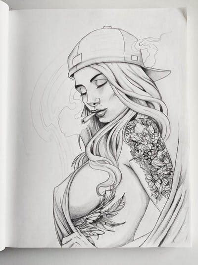 tattoo uploaded  suspectzer chicano girl tattoo