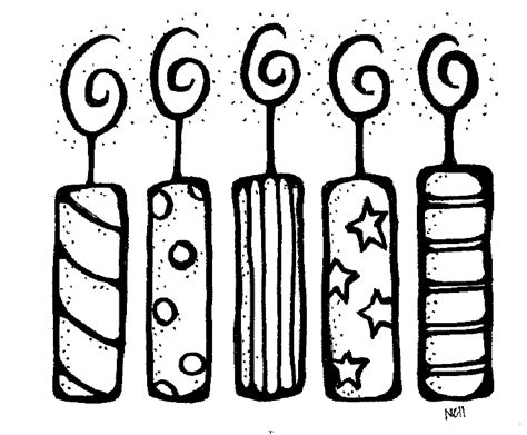 birthday candle clipart black and white birthday candle clipart black and white clipart panda