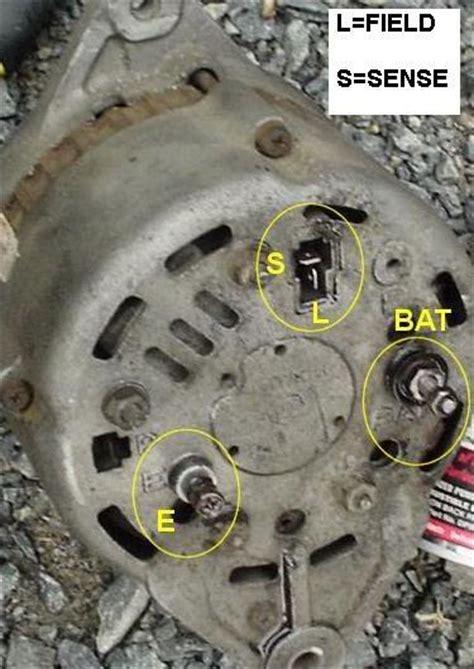 94 ac delco alternator details ignition and electrical hybridz