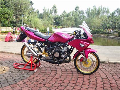 Foto Motor R Warna Pink by Foto Modifikasi Motor Kawasaki Rr Modifikasi Yamah