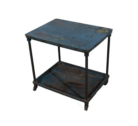 Rolling Bars For Home by Industrial Rolling Bar Cart Blue Steel Home Bars Bar Carts