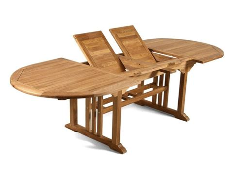 extendable teak table leicester  reality