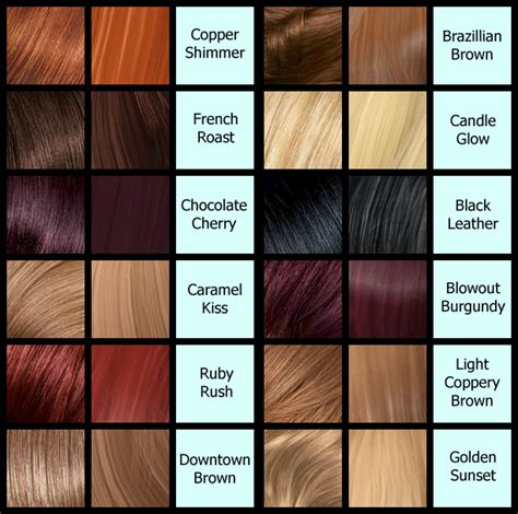 Hair Dye Colour Names by Brown Hair Dye Color Names Hair Color Highlighting And