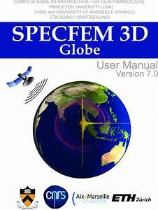 Manual Specfem3d Globe