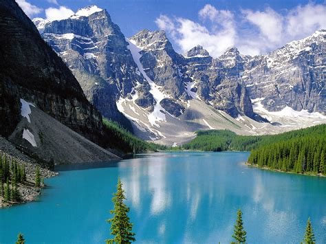 Most-photographed Moraine Lake