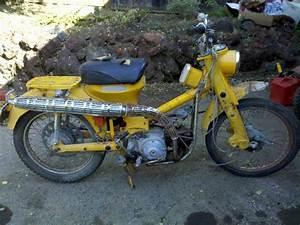 Vintage Honda Trail Bikes  1964