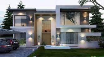 Top Photos Ideas For Modern Villa Plan by Modern Villa Design 2 Fachadas