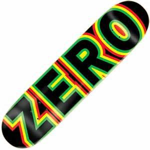 zero skateboards tommy sandoval signature bold skateboard