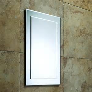 designer mirrors for bathrooms roper designer bevelled bathroom mirror 405mm mps403