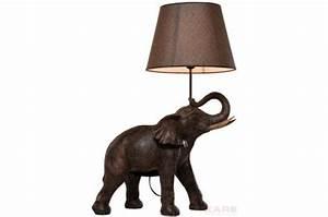 Lampe A Poser Pas Cher : lampe poser kare design l phant africains lampe ~ Teatrodelosmanantiales.com Idées de Décoration
