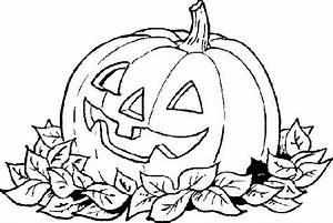 Dessin Citrouille Facile : coloriage une citrouille d cor pour halloween ~ Melissatoandfro.com Idées de Décoration
