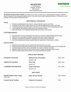 Sample resume objectives for entry level retail resume for Entry level job examples