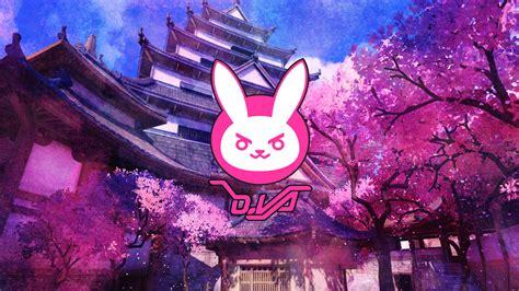 Animated Bunny Wallpapers - d va bunny logo overwatch wallpapers