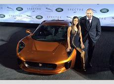 Jaguar CX75 & Range Rover Sport SVR are latest Bond cars