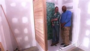 Custom Cedar Shower Wall Video