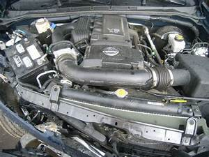 Removing 2010 Nissan Frontier Engine