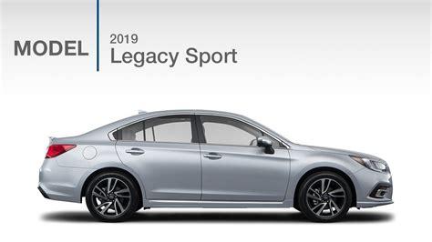 2019 Subaru Legacy 25i Sport  Model Review Youtube