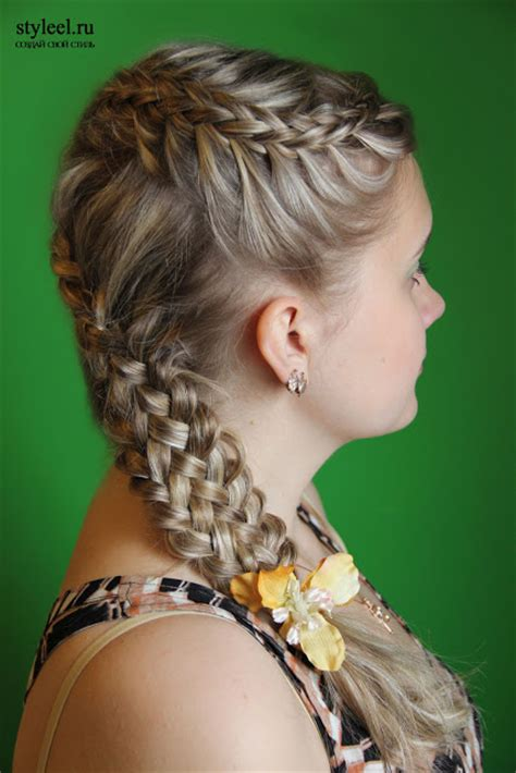 Braid Hairstyle by Local Style Forty And One Braid Hairstyles