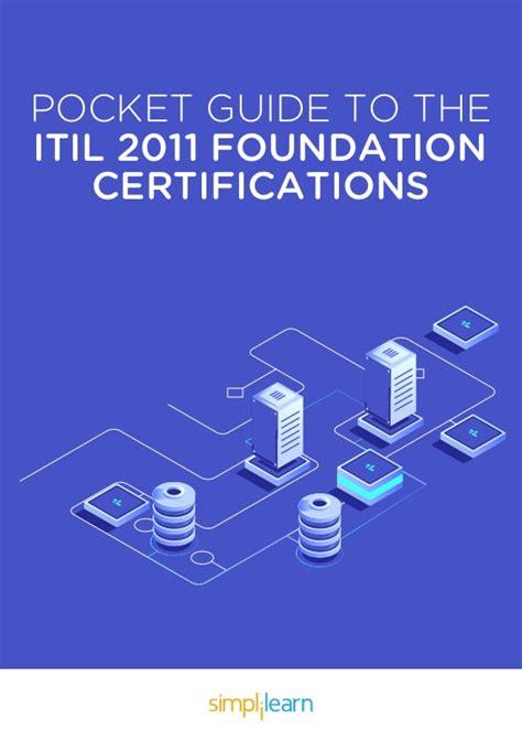 itil  foundation certification pocket