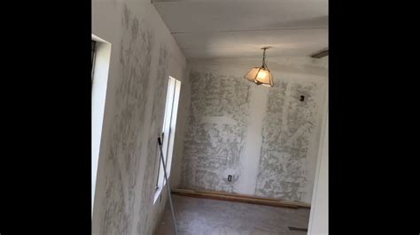 mobile home drywall work youtube