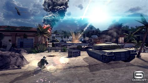 modern combat 4 zero hour trailer shows mobile graphics