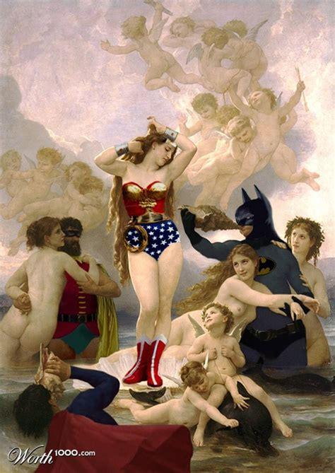 modern renaissance superhero designs altered art