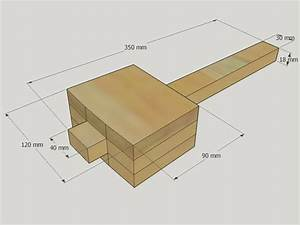 Easy wooden mallet