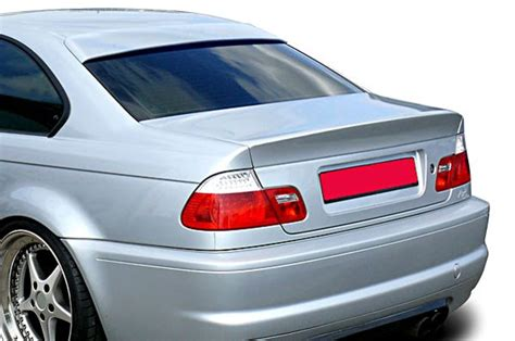Bmw E46 Coupe M M3 2 Door Roof Extension Rear Window Cover