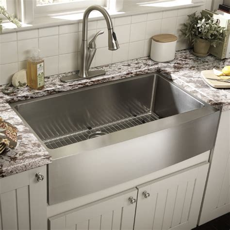how to install stainless steel kitchen sink required cabinet width for apron farmhouse sink home 9455