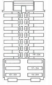 2007 Mercedes C230 Fuse Box Diagram