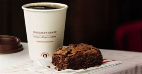 chick fil  tests  chocolate fudge brownie brand eating