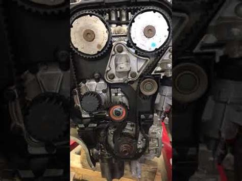 volvo   timing belt replacement  alignment