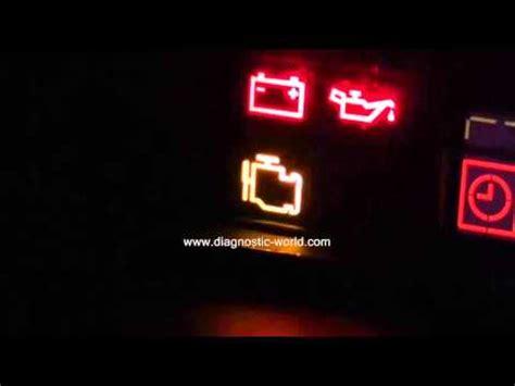 mazda engine management warning light   diagnose