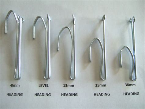 hooks for drapes pinch pleat curtain hooks 5 sizes various amounts ebay