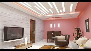 Decoration Salon Faux Plafond YouTube