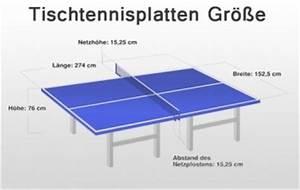 Breite Mal Länge : tischtennisplatten ma e l nge breite h he und ~ A.2002-acura-tl-radio.info Haus und Dekorationen