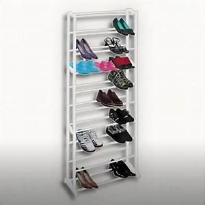 Regal Für Schuhe : relaxdays schuhregal f r 40 paar schuhe wei lackiert ~ Sanjose-hotels-ca.com Haus und Dekorationen
